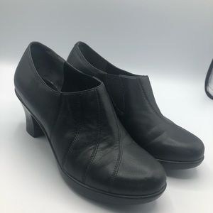 Dansko ankle booties heel size 37/ 7